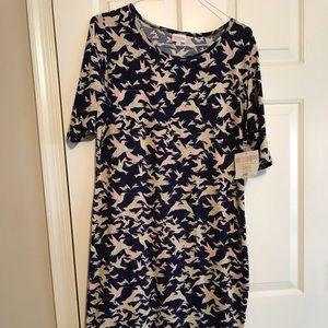 NWT LuLaRoe Julia printed dress